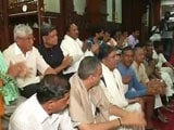 Video : This Protest Against Karnataka Government Included A Sleepover, Bhajans