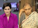 Video : Congress Could Have Taken Call On Chief Ministerial Candidate Earlier: Sheila Dikshit