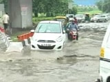 Video : As Rain Causes Water-Logging, Traffic Crawls In Parts Of Delhi