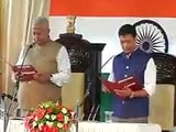 Video : Pema Khandu Takes Oath As Arunachal Pradesh Chief Minister