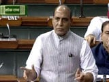 Video : 'There's Hole in your Boat': Rajnath's Dig At Congress Over Arunachal
