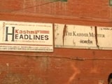 Video : Despite Claims Of 'No Media Gag', Newspapers Stay Off Shelves In Kashmir