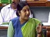 Video : Government Strategy On Nuclear Group NSG Did Not Backfire: Sushma Swaraj