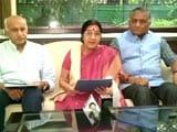 Video: Sushma Swaraj Slams Pak PM, Says 'All Of Kashmir Is India's'