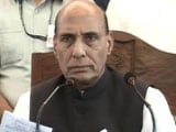Video: Urge Security Forces To Not Use Pellet Guns, Says Rajnath Singh