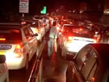 Video: After Massive Rain, Six-Hour Long Traffic Jams In Gurgaon
