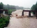 उत्तराखंड में कोटद्वार-नजीबाबाद रेलवे पुल बहा