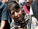 Video: महबूबा मुफ्ती के बयान पर केंद्र सख्त, कहा- मेरी बात को गलत समझा गया