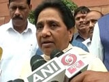 Video : Quit If You Can't Manage: Mayawati To Akhilesh On Bulandshahr Gang-Rapes