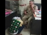 Video : UP Officer, Caught On Camera Getting Massage In Police Station, Suspended