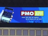 Video : At Townhall, PM Modi Launches PMO App