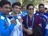 Video : Sachin Tendulkar Buoys Indian Athletes at Rio 2016 Games Village