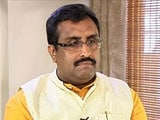 Video : New Kashmir Outreach? Ram Madhav, Ministers Brainstorm With Civil Society