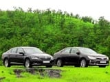Video : In Comparison: Toyota Camry Vs Skoda Superb