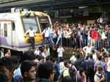 Video: Delays For Mumbai Locals As Angry Passengers Blocked Badlapur Tracks