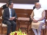 Video: Chinese Minister Meets PM Modi Amid Strained Ties Over Nuke Group (NSG) Bid