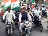 Video : जयपुर : तिरंगा यात्रा में शामिल हुए राज्यवर्द्धन और पीयूष गोयल