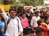 Video : Amity Student's Suicide After Being Debarred From Exams Leads To Protest