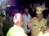 Video : Caught On Camera: Maharashtra BJP Legislator Slaps Cop Inside Police Station