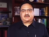 Video : Health Minister JP Nadda Highlights The Need For Organ Donation