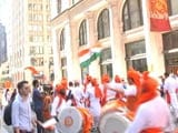 Video : Indian Independence Day Celebrated In New York