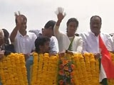 Sindhu Celebrations Part Deux: After Hyderabad, A Vijayawada Victory Rally