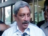 Video : 'There's Been A Hacking:' Defence Minister Parrikar On Scorpene Leak