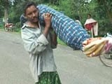 Video : Odisha Man Carries Wife's Body 10 Km With Daughter