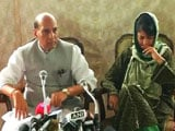 Video : Alternative To Pellet Guns Soon In Kashmir, Says Rajnath Singh