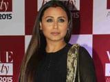 Video: Rani Mukerji's Face-Off With Paparazzi