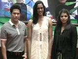 Video : सिंधु, साक्षी और दीपा के लिए सम्मान समारोह