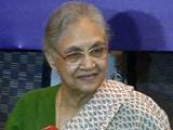 Video : टैंकर घोटाले में पूछताछ के लिए शीला दीक्षित के घर पहुंची एसीबी