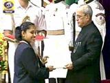 Video : सिंधु, दीपा, साक्षी और जीतू राय को राजीव गांधी खेल रत्न पुरस्कार