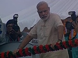 Video : PM Modi's First Rally In Home State Gujarat Today Since Taking Office