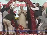 Video: In Patel Territory, PM Modi Reaches Out To Farmers And Talks Growth
