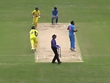 Video : India A Go Down by a Single Run in Thrilling Clash vs Australia A