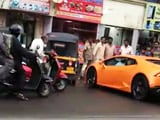 Video : On Camera: Lamborghini, Driven By BJP Legislator's Wife, Hits Auto