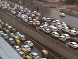 Video : Heavy Rain Causes Rush Hour Chaos In Delhi, Gurgaon