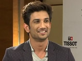 Video : Sushant Singh Rajput Eyes Dhoni's Lucky Bat