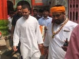 Video: Rahul's 20 Minutes In Ayodhya, First Gandhi Visit In 26 Years