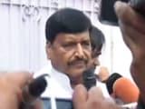 Video : शिवपाल यादव के घर के बाहर जुटे समर्थक