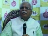 Video : Mewat Gang-Rape Case, Beef In Biryani 'Small Issues': Manohar Lal Khattar