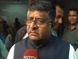 Video : India-Pak Ties Will Never Be The Same Again, Says Minister RS Prasad