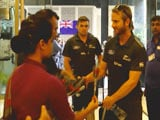 New Zealand Get Traditional Indian Welcome in Kanpur