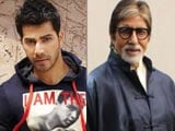 Video : Varun Dhawan, Amitabh Bachchan to Co-Star in Comedy Film?