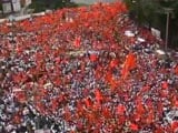 Video: Maratha Protest For Quota Snowballs, Huge Rally Held In Pune