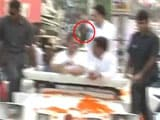 Video : Shoe Thrown At Rahul Gandhi During Roadshow In UP's Sitapur