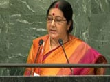 Video: Watch: Sushma Swaraj's Takedown Of Pak At UN