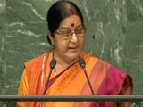 Video: 'Abandon This Dream': Sushma Swaraj Warns Pak About Kashmir At UN