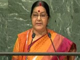 Video : Terrorism Is The Biggest Violation Of Human Rights: Sushma Swaraj At UN